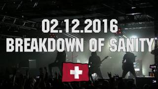02.12.16 - Breakdown Of Sanity - Санкт-Петербург! Трейлер