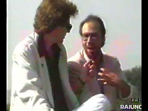Antonello Venditti Intervista concerto Firenze 1986