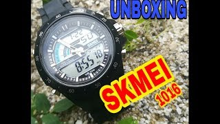 UNBOXING SKMEI 1016
