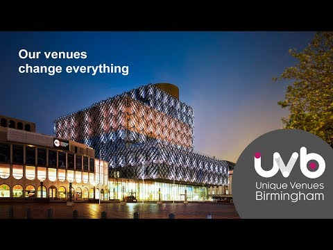 UVB - our venues change everything