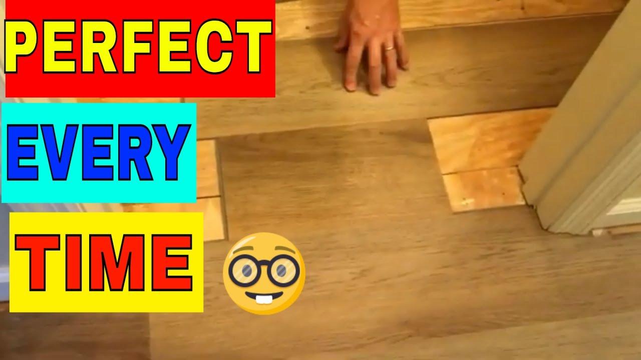 Lvp Quick Tip Around Door Jambs Youtube