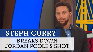 Steph Curry breaks down Jordan Poole's career night | Warriors Postgame Live | NBC Sports Bay Area