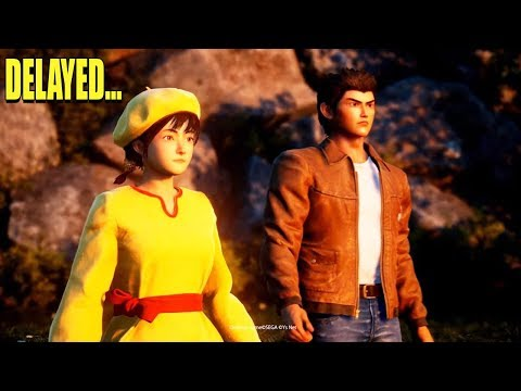 Shenmue 3 Delayed Until 2019! What...