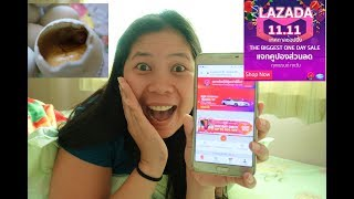 LAZADA 11.11 BIGGEST ONE DAY SALE 2018 + Eating Balut | MY FIRST EVER