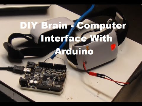 DIY Brain-Computer Arduino Interface Tutorial Part 1