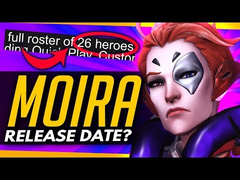Overwatch | MOIRA RELEASE THIS WEEK/TONIGHT? - Free Weekend Details thumbnail