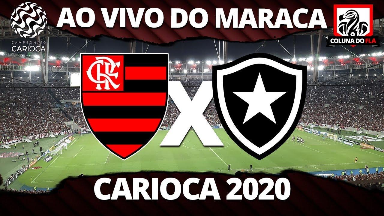 Flamengo X Botafogo Ao Vivo Do Maracana Carioca 2020 Narracao Rubro Negra Youtube