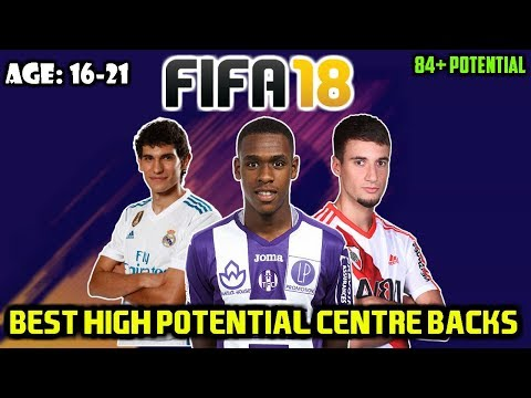 FIFA 18: BEST CB'S WITH HIGH POTENTIAL TO BUY ON CAREER MODE (Any Teams/16-21!)