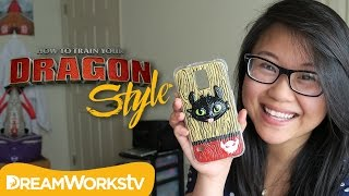 DIY Toothless Phone Case with Coolricebunnies | DRAGON STYLE