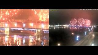 Гранд-Фейерверк 30 декабря 2016 Санкт-Петербург Адмиралтейская набережная