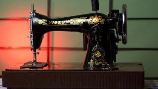 Швейная машинка Зингер, Подольск, Тикка, Маршал(Как подготовить к работе винтажную швейную машинку, обслуживание., 2014-01-23T01:08:33.000Z)