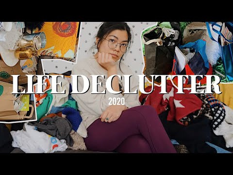 DECLUTTERING MY LIFE FOR 2020: Major Home/closet Cleanout + Organization!