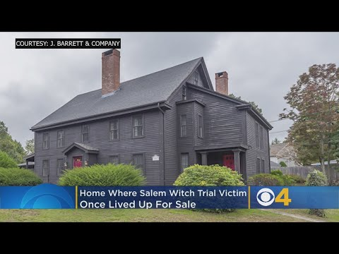 Ayo - For Sale: A home with Salem Witch Trial history ties. Yikes.