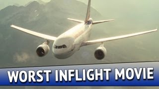 Worst Inflight Movie Ever! (Airplane Crash Supercut)