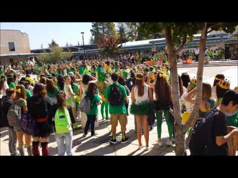 Castro Valley High School Senior March- Homecoming 2013