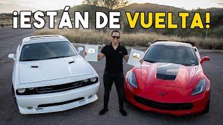 REGRESARON EL CHALLENGER SRT Y EL CORVETTE Z07    ALFREDO VALENZUELA