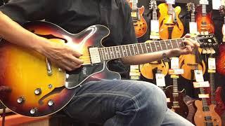 【商品紹介@Guitar Planet】Gibson C/S ES-335 '61 VOS 2019 Historic Burst