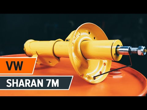 How to replace front shock absorbers on VW SHARAN 7M TUTORIAL | AUTODOC