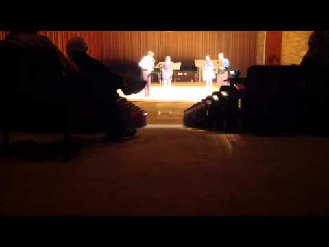 Quatuor (Dubois) Ian Decker senior recital