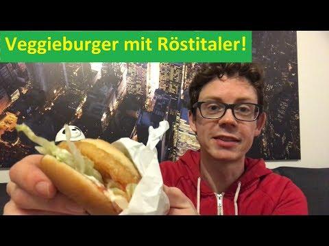 Veggie Burger Ts mit Röstitaler von McDonalds zum Preis von 1,99 Euro im Test