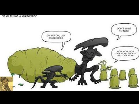 Prometheus Only Alien Covenant Fans Will Find It Funny Predator Vs Xenomorph Fun War