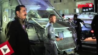 آثار انفجار قنبلة فيصل.. والأمن يدفع بتشكيلات أمن مركزي (اتفرج)