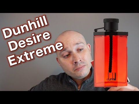 30130819a Dunhill Desire Extreme fragrance review