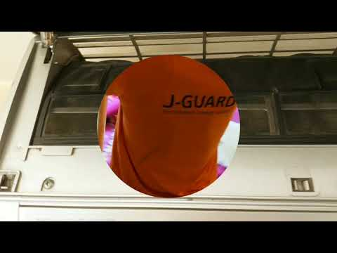 Air-conditioner Filter Cleaning By J-Guard Professional Cleaning Company