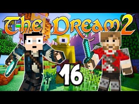 THE DREAM 2 - Ep. 16 : Le chateau dans le ciel - Fanta et Bob Minecraft Modpack poster