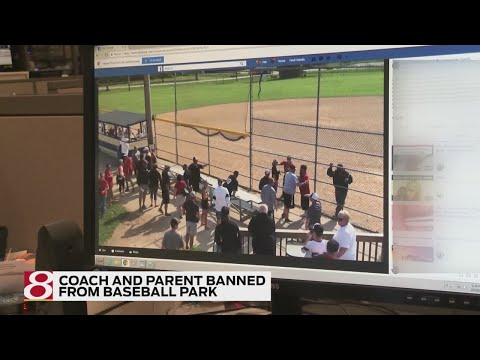Jordan - Youth Baseball Coach Goes After Drunk Parent With A Bat