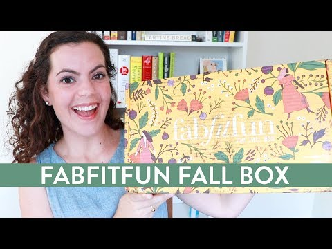 FabFitFun Fall 2017 Unboxing | THE BOX THAT KEEPS ON GIVING