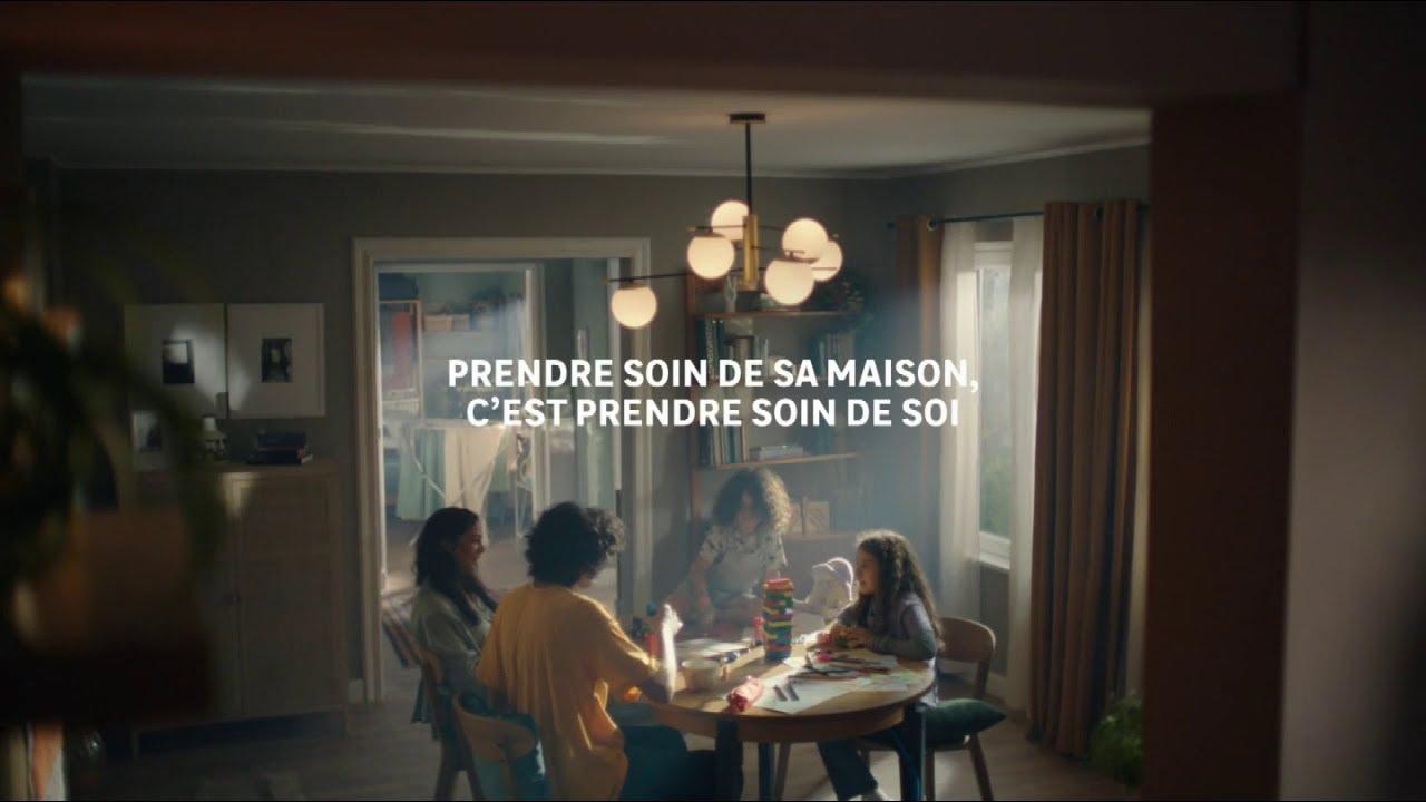 """Musique pub Leroy Merlin – isolation & chauffage """"prendre soin de sa maison c'est prendre soin de soi""""  2021"""