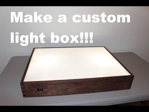 How To Build Light Box