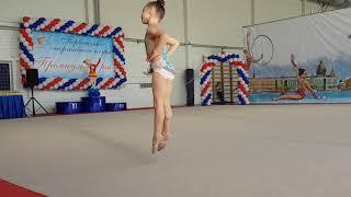 Художественная гимнастика.  Закрытие года.  2 год обучения.
