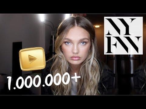 Hitting 1 Million Subs + New York Fashion Week // VLOG 44 | Romee Strijd