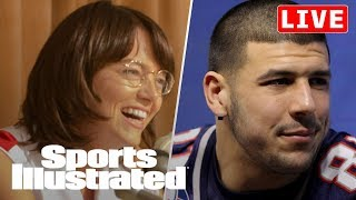 Aaron Hernandez CTE Case, Billie Jean King & Emma Stone Talk New Film | LIVE | Sports Illustrated