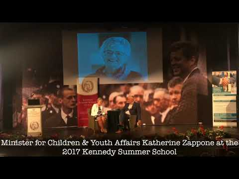 Katherine Zappone Q&A with Noel Whelan JKFSS