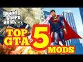 Top 5 GTA 5 Mods Ultra Realistic(Jack paul SUPERHEROS,REAL LIFE,JUSTCAUSE,WATCHDOG,LSPD,) PART1