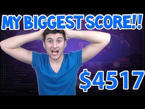 $44 BOUNTY BUILDER WIN on Pokerstars | Poker Highlight