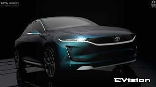 Official Video HD   Tata EVision Sedan Concept   High Definition Trailer