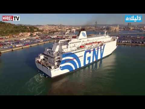 Reportage à bord du bateau Sète / Nador - ريبورتاج على متن باخرة سات / الناظور
