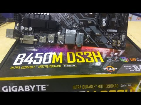 B450M DS3H AMD Ryzen Gigabyte Motherboard Unboxing Tech Land - YouTube