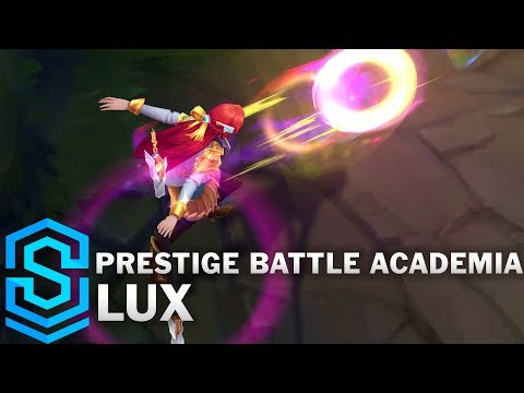 Prestige Battle Academia Lux Skin Spotlight - League of Legends