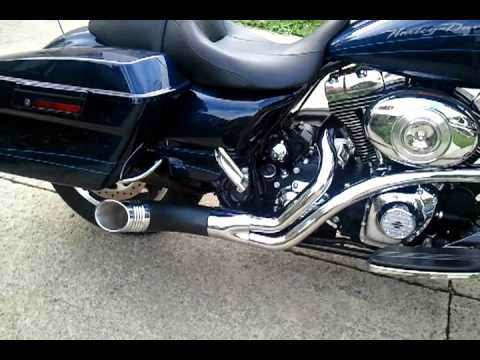 2012 Roadglide Sinister Exhaust Youtube