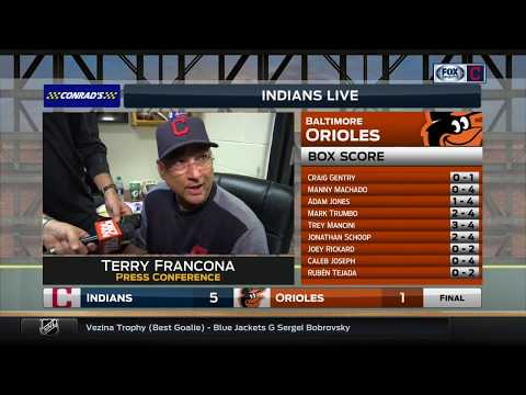 Terry Francona on how Andrew Miller saved the Indians against the Orioles
