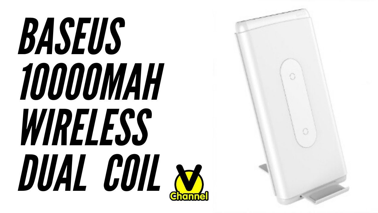 [Vchannel]: Sạc Baseus Dual Coil Wireless Charger 10000mAh: Khi công nghệ nói lên tất cả!