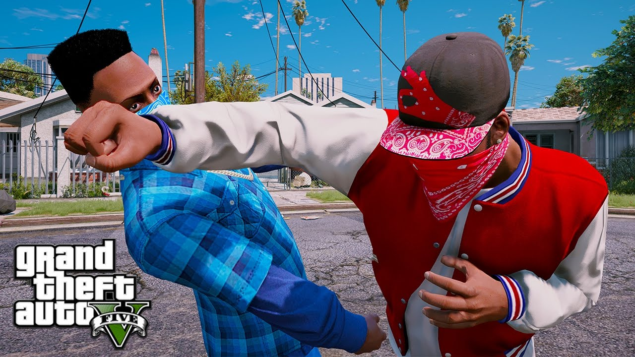 Gta 5 Bloods Vs Crips Ep 23 Hq Youtube