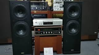Loa TANOY 637 ( giá 11t5)chất âm huyền thoại, Amply Sansui SAX-350D (giá 7t5) tiếng rất hay.