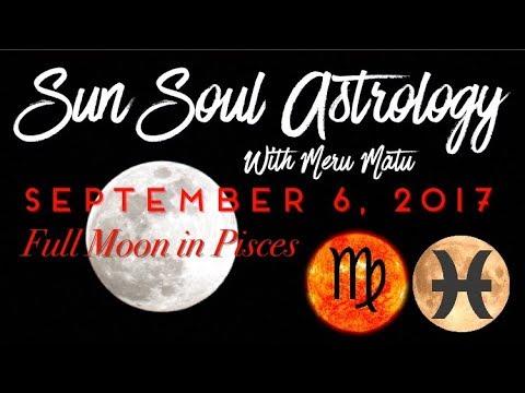 Full Moon in Pisces on Neptune Quantum Astrology September 6 2017!!!