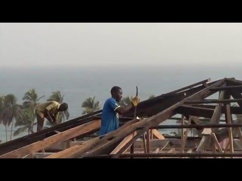 OYC Ghana Chronicles: OBey YouthCare Roof Job 2016